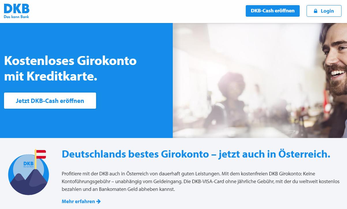 Girokonto mit Kreditkarte DKB