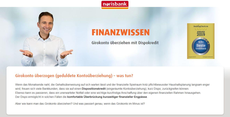 norisbank Dispo