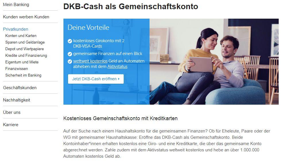 DKB Vereinskonto