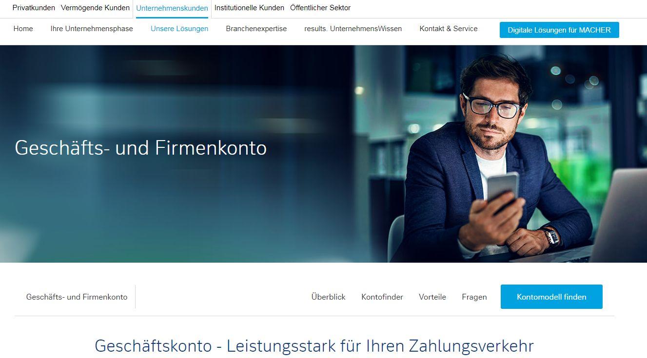 Deutsche Bank Vereinskonto